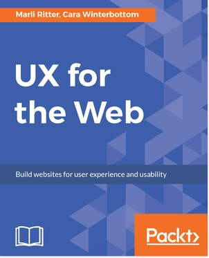 Book cover of UX for the Web