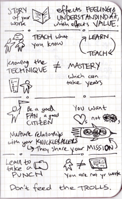 Show Your Work sketchnotes - page 3