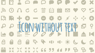 iconwithouttext